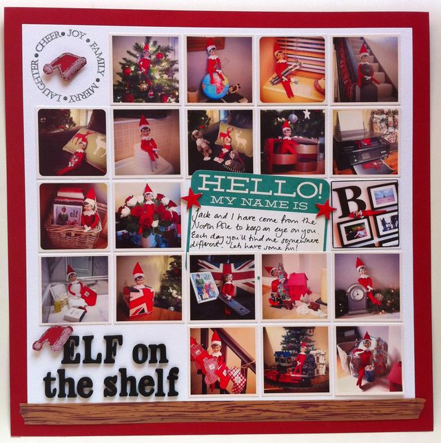 GSM Issue 4 - Elf on the Shelf