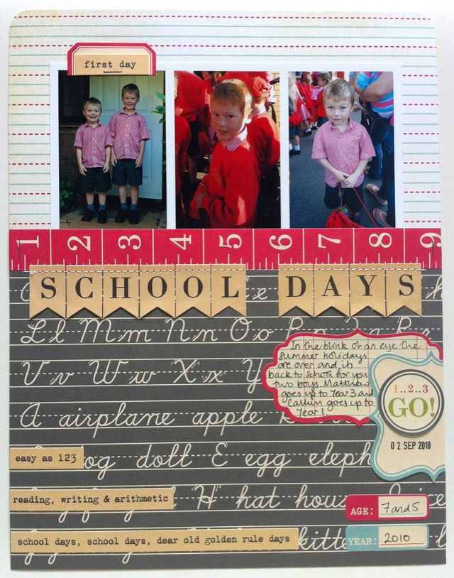 SBM54 School Days