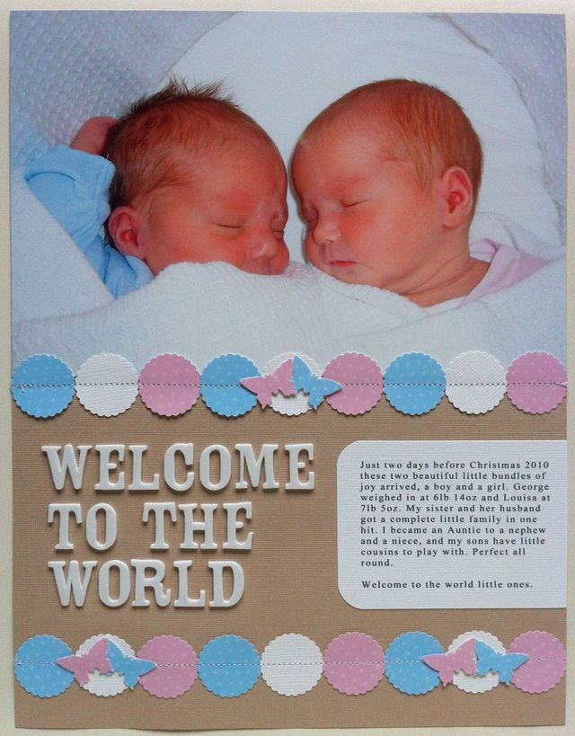 SBM54 Welcome to the World