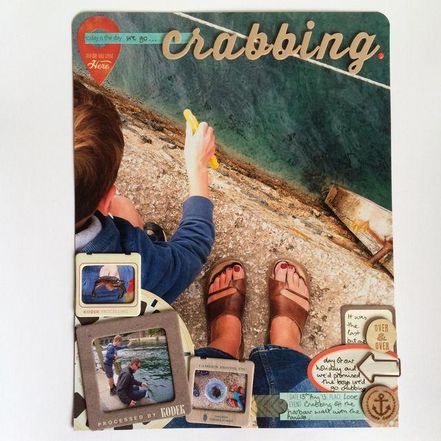 SBM77 Crabbing